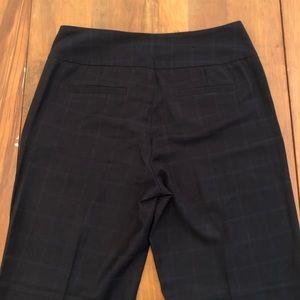 Banana Republic Pants - Banana Republic Plaid Trouser Pants Wool Blend